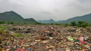 Guntur's Dump yard