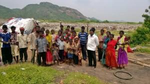 Yanadi community members involved in wastepicking