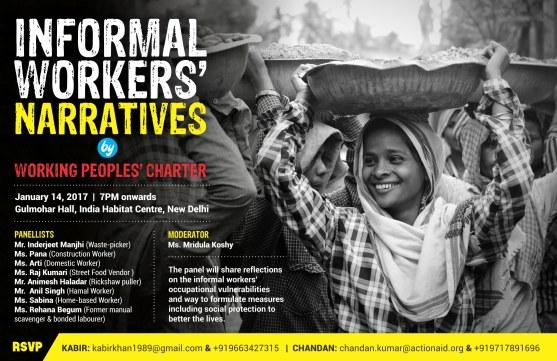 Informal Workers' Narratives 3